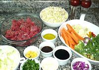receita carne chinesa