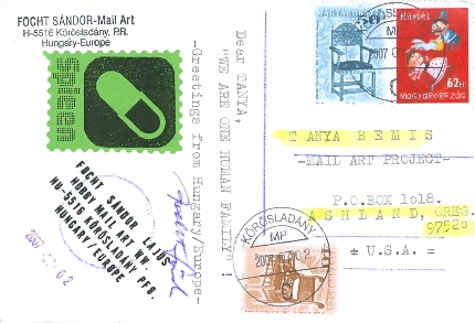 Focht Sandor, Hungary, Posted 08/07