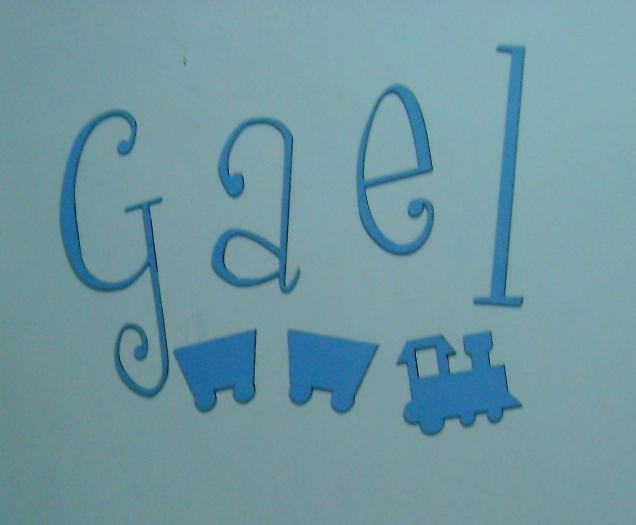 Letras decorativas para pintar imagui - Letras decorativas pared ...