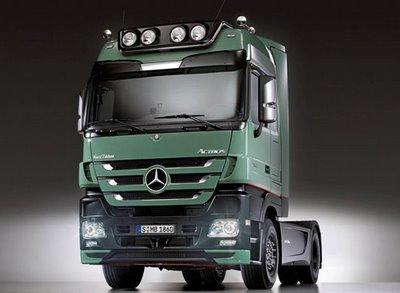 videos de camiones mercedes benz actros 2