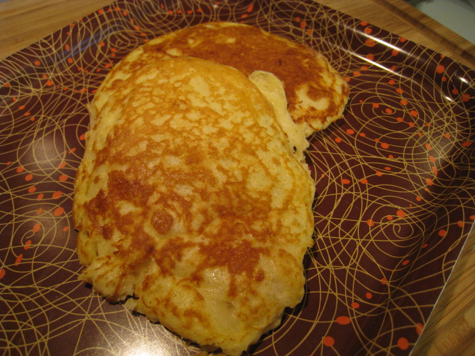 Join us, pull up a chair: Edna Mae's Sour Cream Pancakes