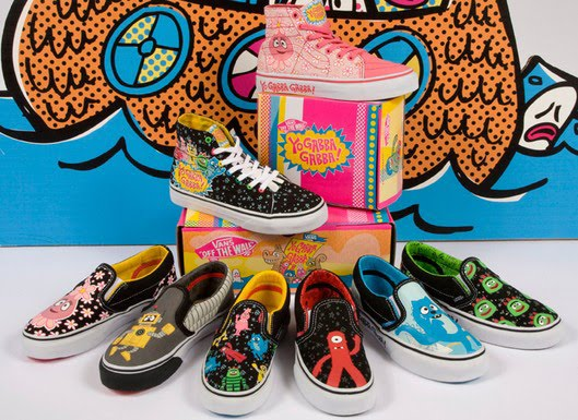 0e884b9c3492 The all-new Yo Gabba Gabba Vans are now available! To celebrate