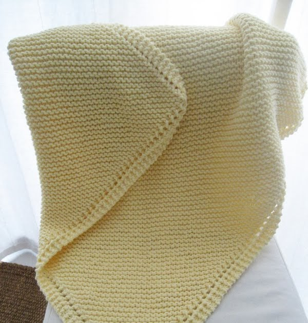 Decrease Knitting Garter Stitch : LuluKnits: Diagonal Garter Stitch Blanket