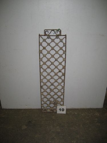 furniture finds small antique french wrought iron panel. Black Bedroom Furniture Sets. Home Design Ideas