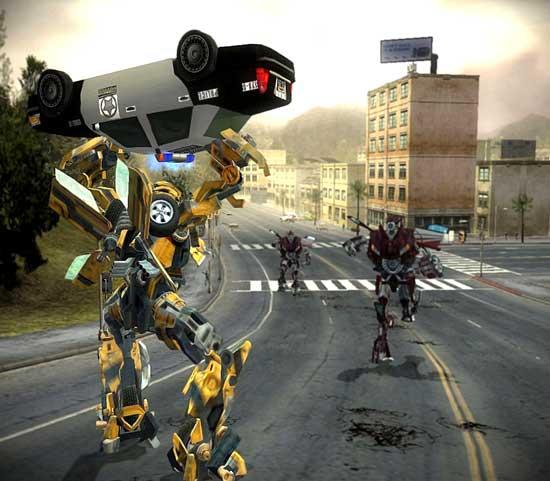 Analise de Jogos: 1º: Transformers The Game (PC) Transformers-the-game