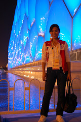 At the Water Cube