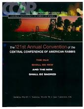 121st Annual CCAR Convention