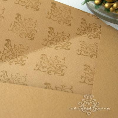 elegant handmade envelope