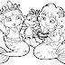 Desenhos da Dora para Colorir - Sereia