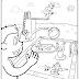 Desenhos de Piscinas para Colorir - Verão para Imprimir