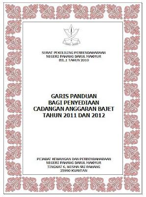 Surat Pekeliling Perbendaharaan Negeri Pahang Bil.1 Tahun 2010