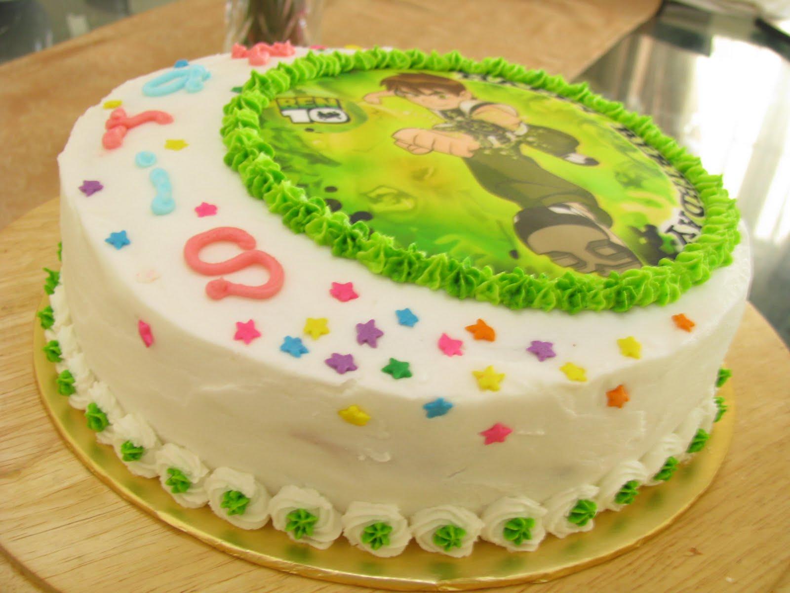 I Heart 1978cakes Ben 10 Birthday Cake