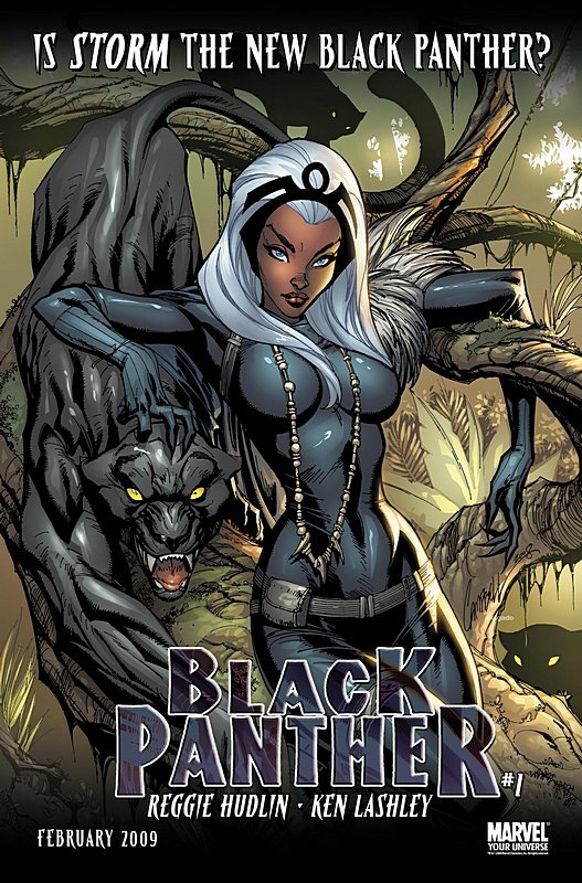 Storm the new Black Panther?
