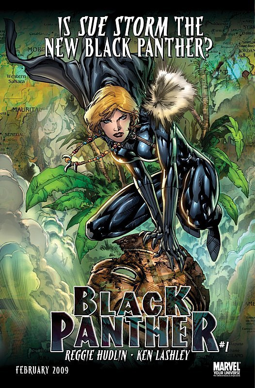 Sue Storm the new Black Panther?