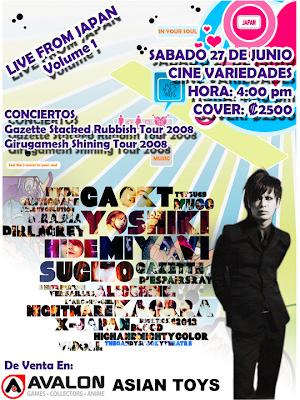 Live Japan este 27 de Junio Livejapan