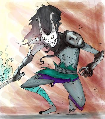 Rat Kid Rocks, sangre nueva para el cómic costarricense Espiritu_Gris_by_kuronekonoyoru