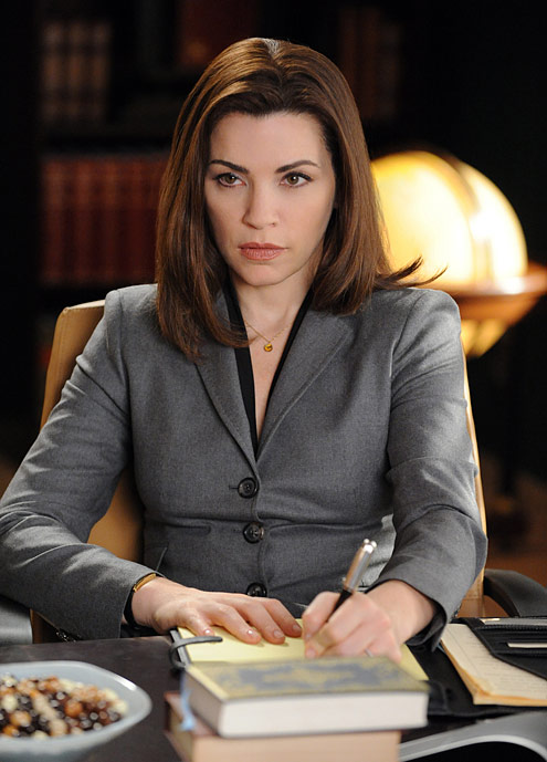 So, the other night for instance, we were watching The Good Wife.