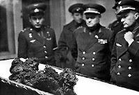 Remains of Vladimir Komarov