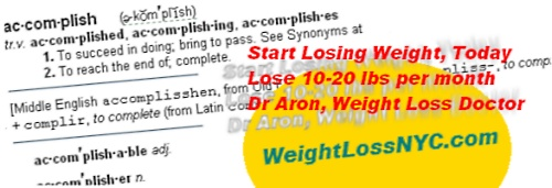 achieve weight loss success