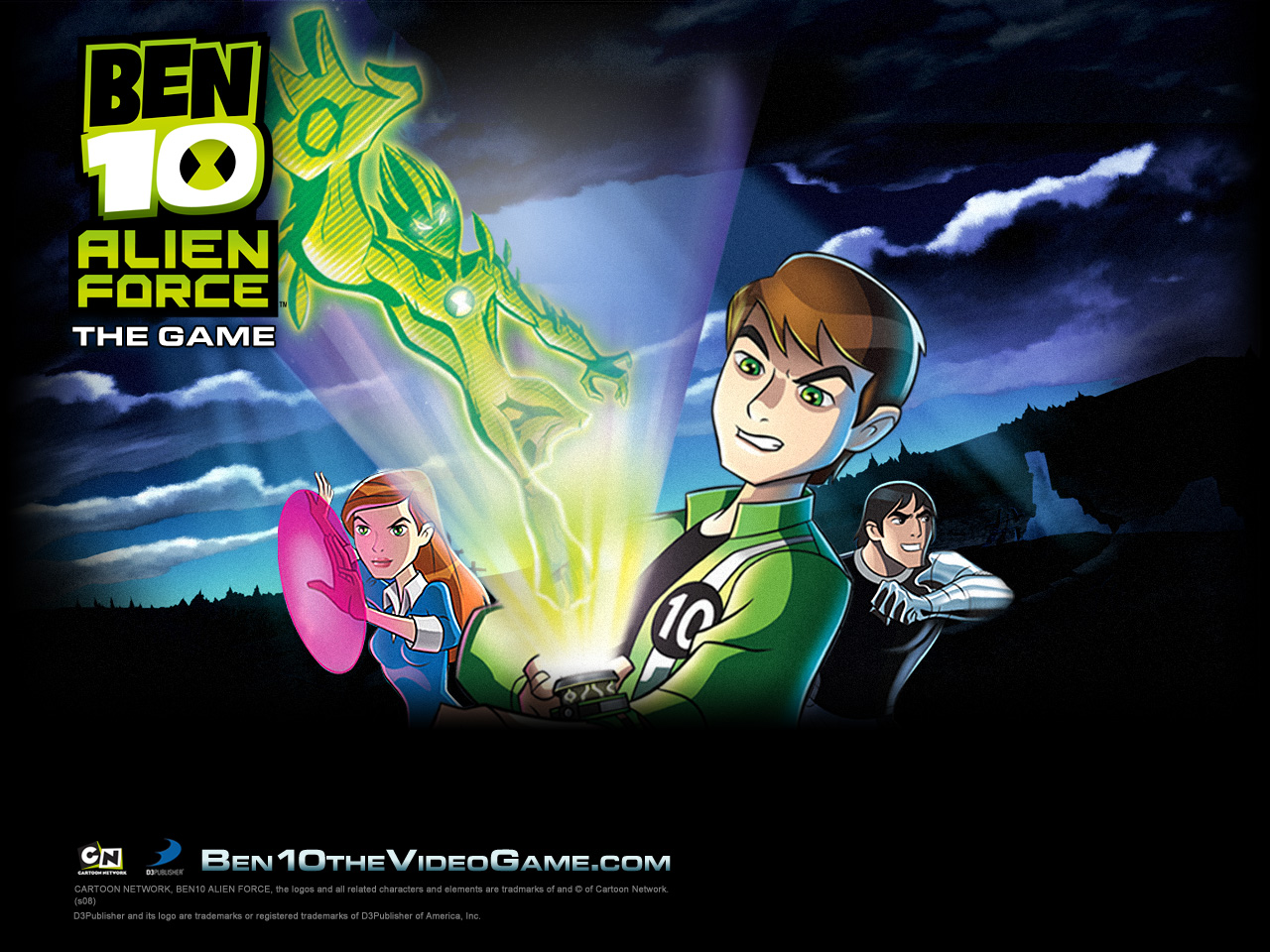 all ben 1000 games alien force
