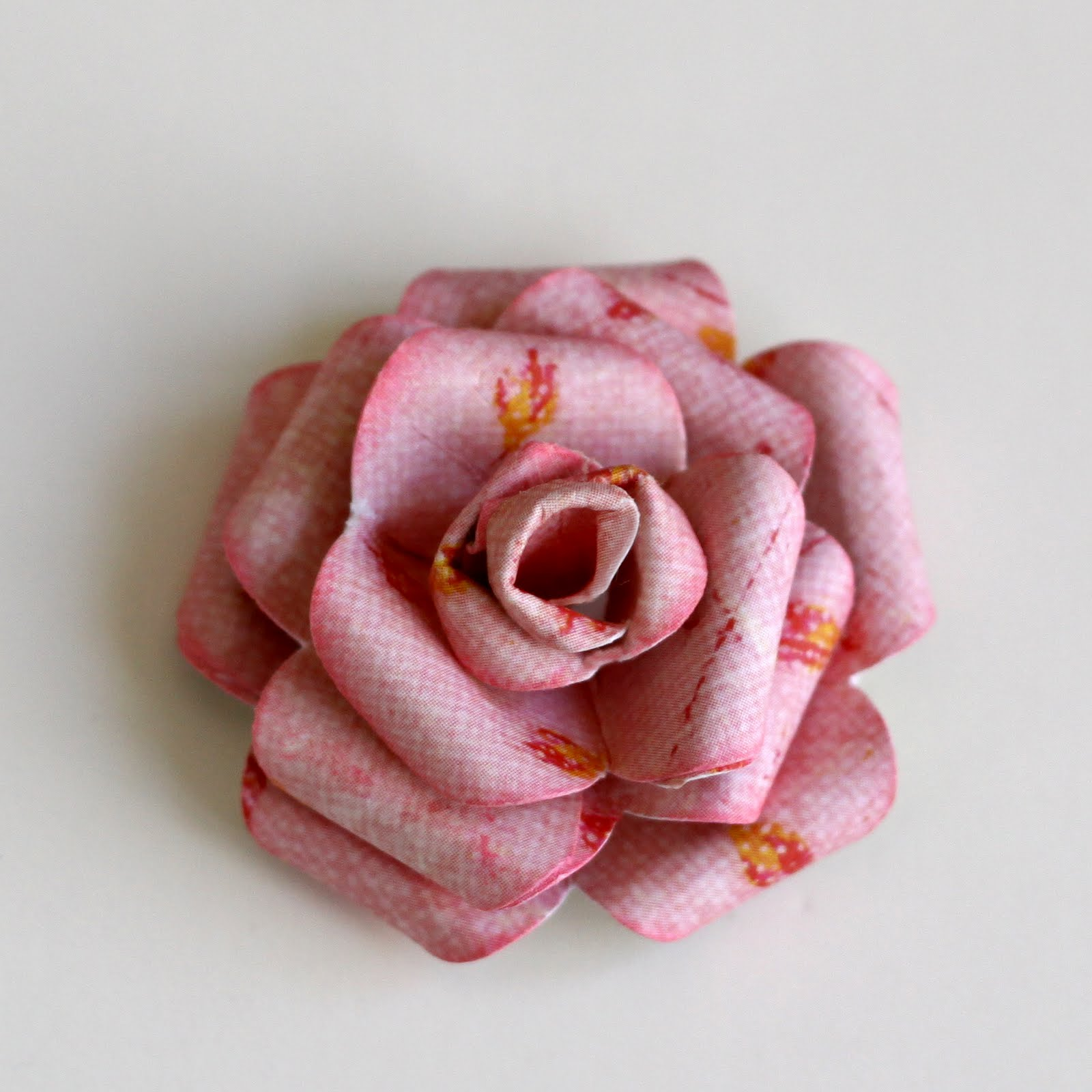 How to make a rose from paper napkin