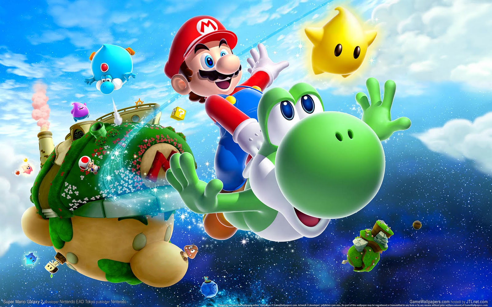 Super Mario HD & Widescreen Wallpaper 0.383339687449967