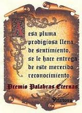 PREMIOO PALABRAS ETERNAS