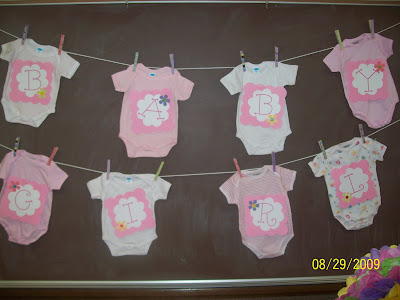 Some of this some of that onesie baby shower banner Baby shower banners