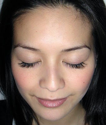 Ardell DuraLash Individual Lashes after
