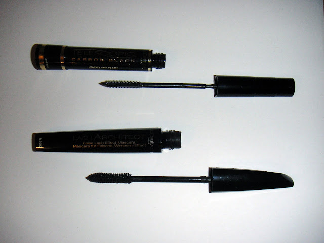 L'Oreal Telescopic and Lash Architect mascaras