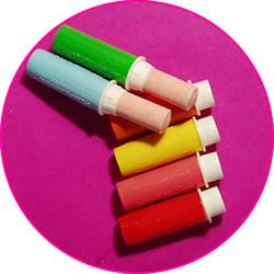 Retro lipstick sweets