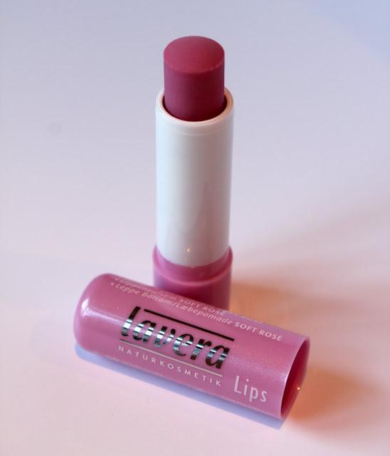 Lavera Lip Balm Soft Rosé