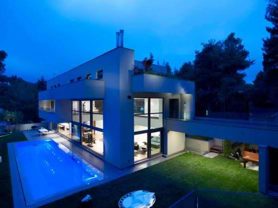 Ragam ide Desain Rumah Kayu Modern 2015 yang cantik