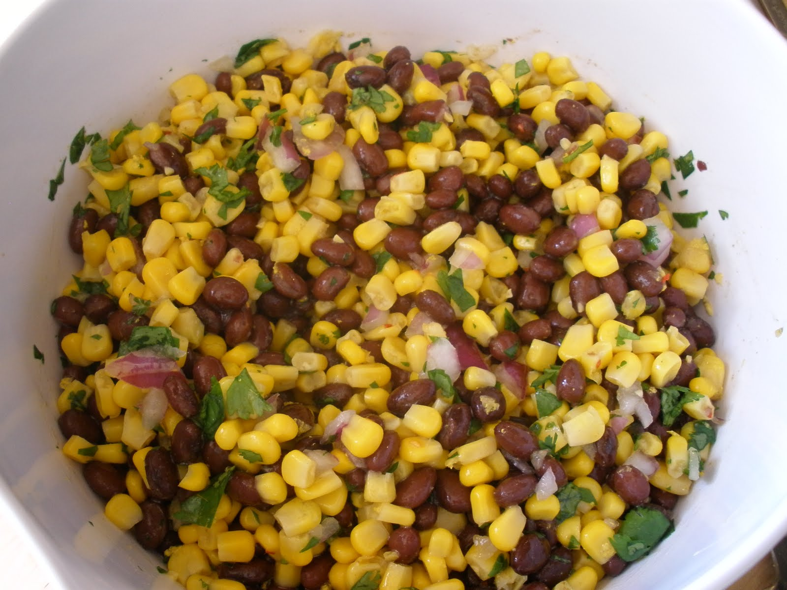 snacktive: Black Bean and Corn Salad