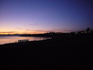 Vancouverin saaren rantaa Victorian kaupungissa