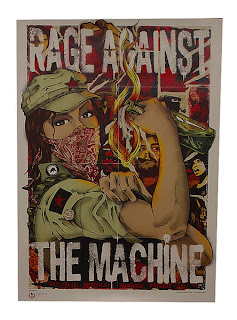 rage against the machine pistol grip