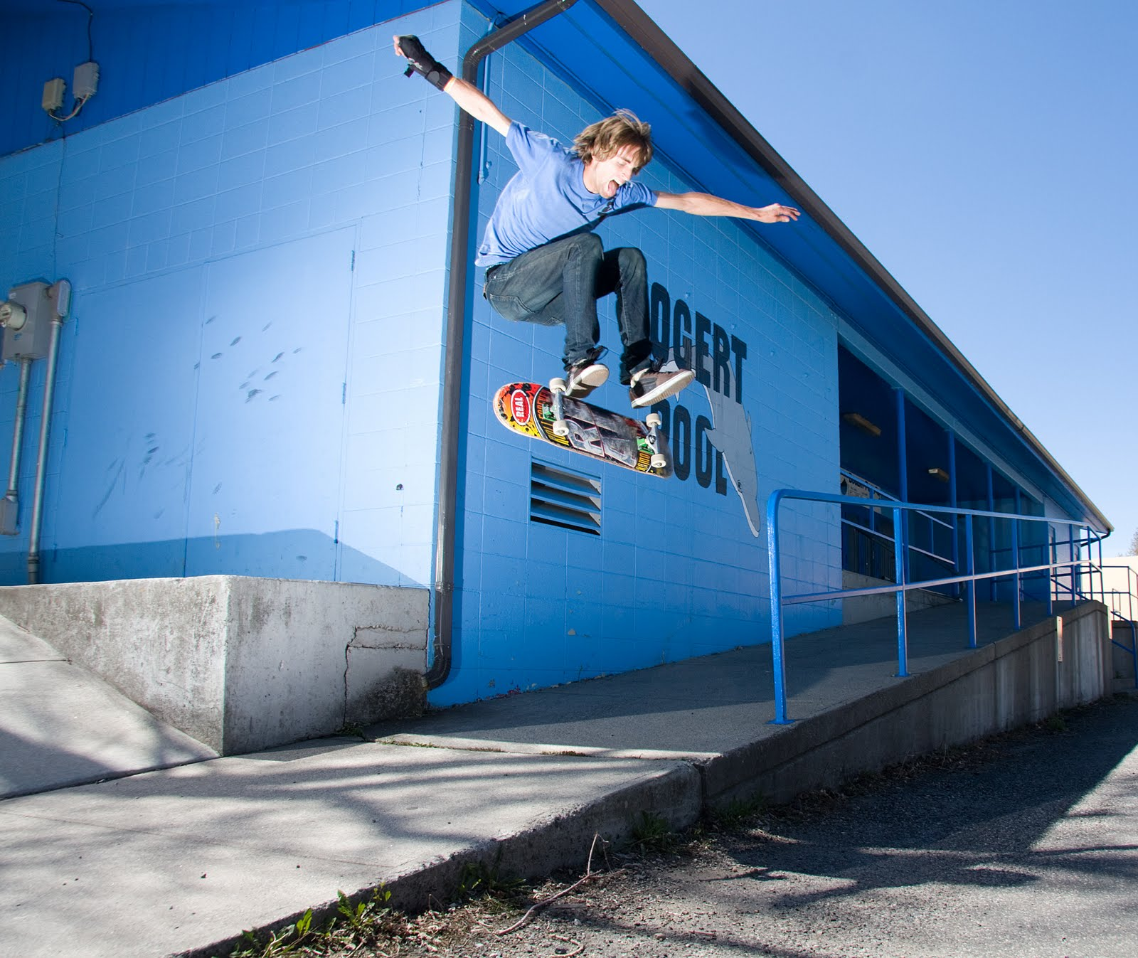 Logan Triplett can varial flip with the best of them