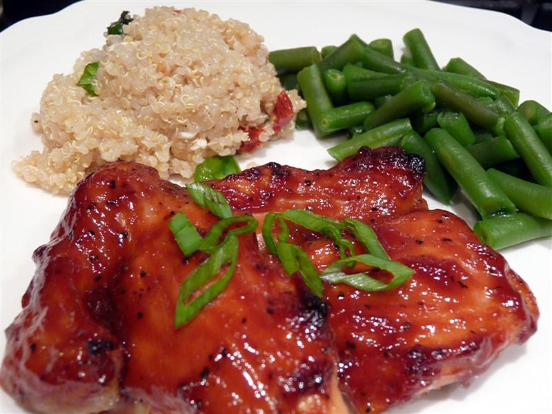 Asian Baked Chicken Thighs ButterYum