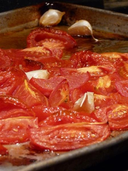 Oven Roasted Tomato Dip, ButterYum