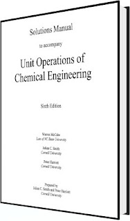 solutions manual unit operations of chemical Engineering
