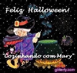 RECORDAÇÕES DE 2010 - HALLOWEEN 2010 - COZINHANDO COM MARY