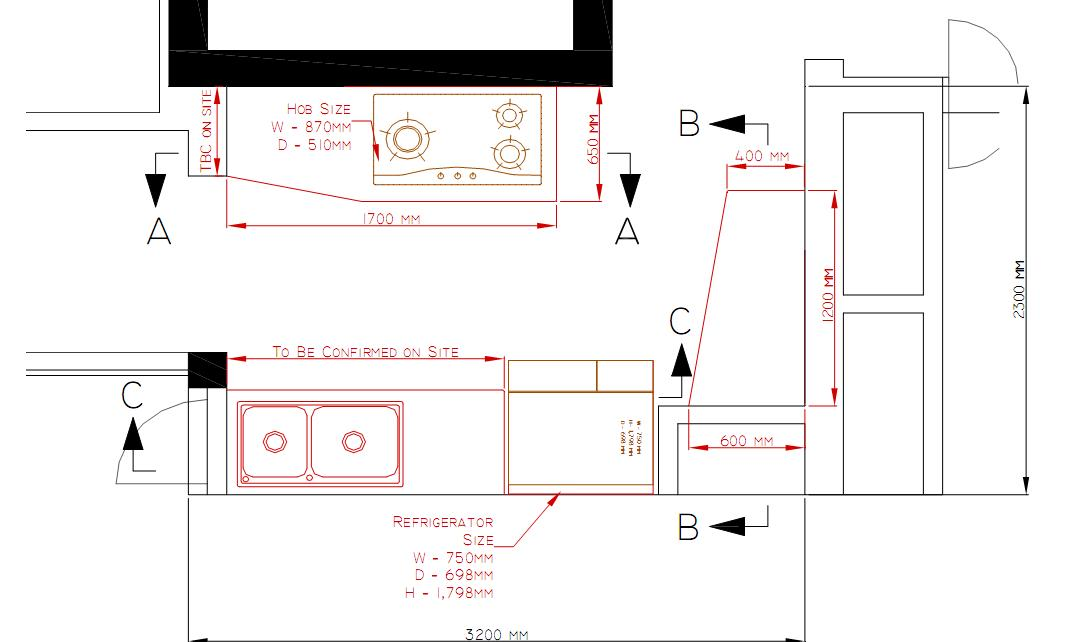 Kitchen Remodel Layout