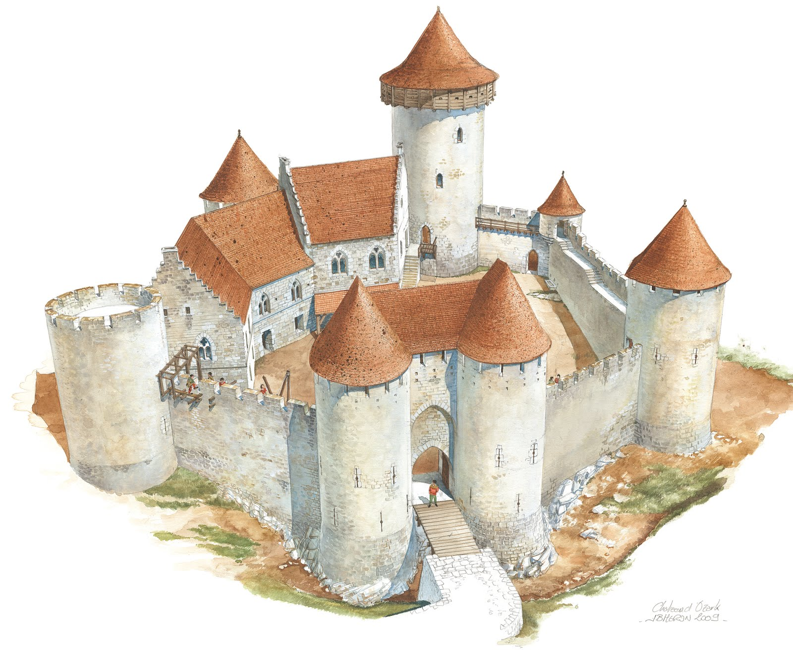 Medieval News Medieval Castle Begins To Emerge In America