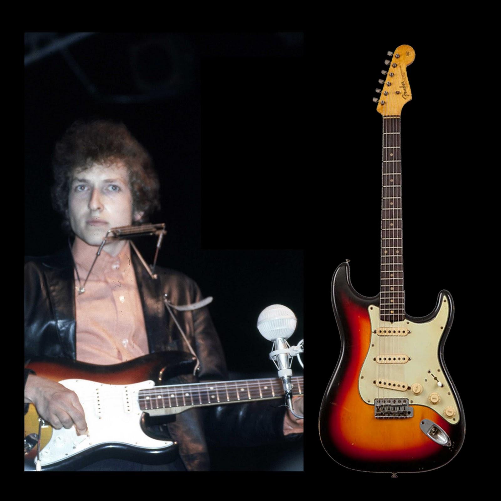 Bob Dylan S Gear Fender Stratocaster 62