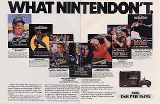 Some classic nasty advertising from Sega.