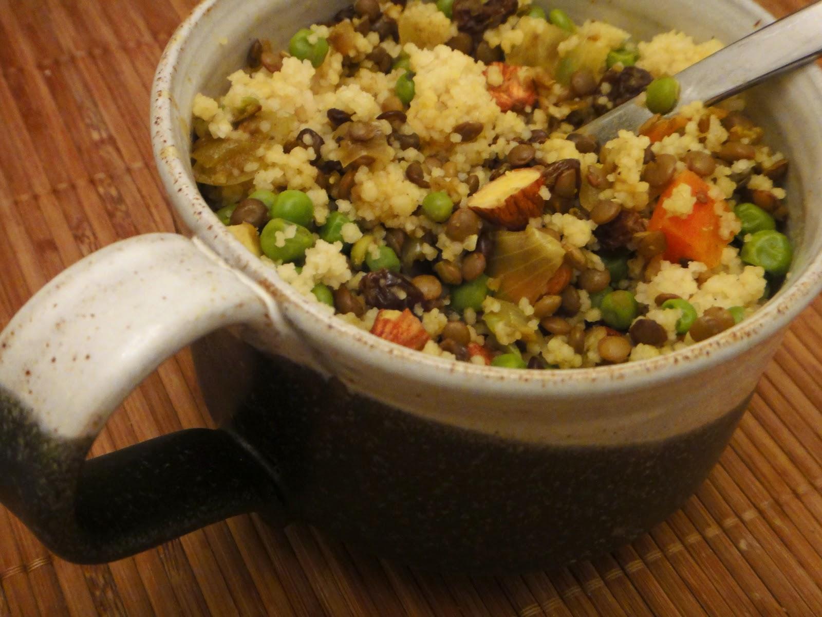 curried israeli couscous curried israeli couscous and lentil pilaf ...