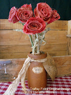 Rusty Jar Roses