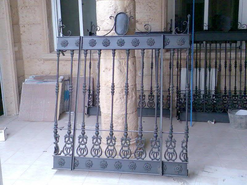 Formetal reja de forja modelo sevilla - Rejas de forja antiguas ...