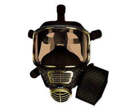 Máscara de gás Louis Vuitton