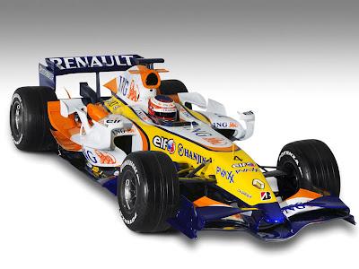 Renault F1 en la pista